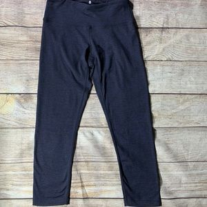 Spiritual Gangster Navy Blue crop legging